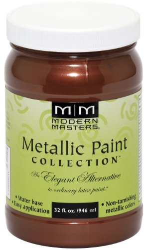 - Modern Masters ME205-32 Metallic Antique Copper, 32-Ounce