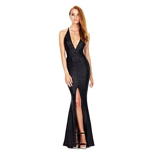 prom dress leg split - 2