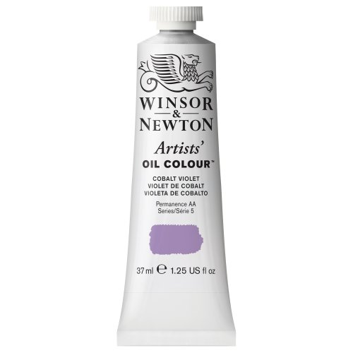 Winsor & Newton Artists' Oil Colour Paint, 37ml Tube, Cobalt Violet (37 Ml Cobalt Violet)