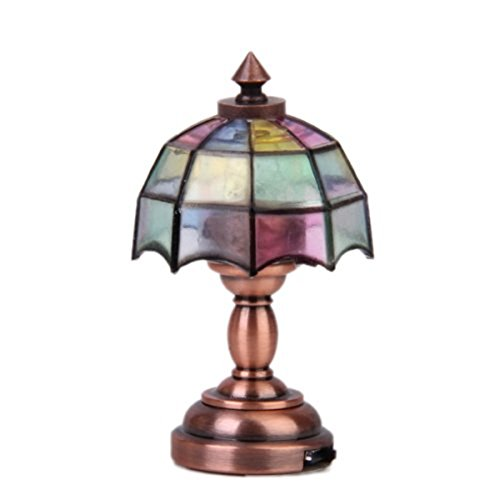 Tinksky Dollhouse Miniature Umbrella Lampshade