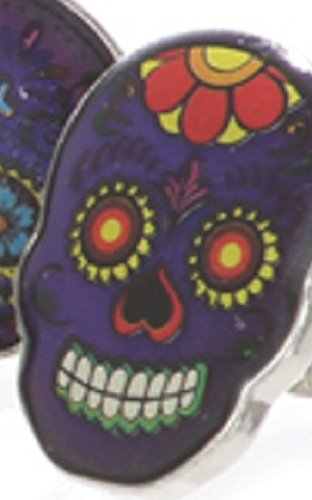 Day of the Dead Mood Ring Style Flower -