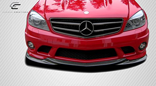 Carbon Creations ED-IRG-798 L-Sport Front Under Spoiler Air Dam Lip Splitter - 1 Piece Body Kit - Compatible For Mercedes C63 2008-2011