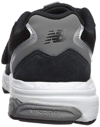 New Balance Boys' 888v2 Hook and Loop Running Shoe Black/Grey 2 XW US Infant by New Balance (Image #2)