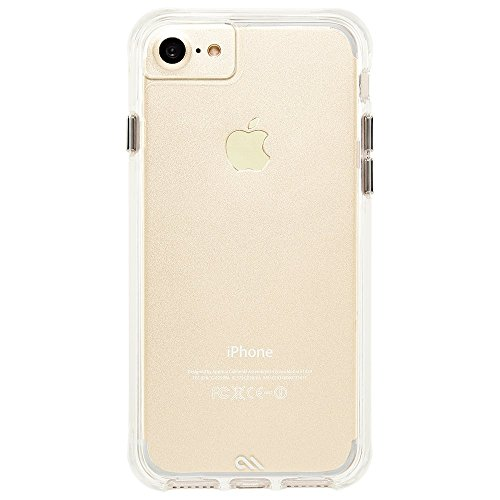 Case-Mate iPhone 8 Case - TOUGH CLEAR - Rugged - 10 ft Drop Protection - Slim Protective Design for Apple iPhone 8 - Clear