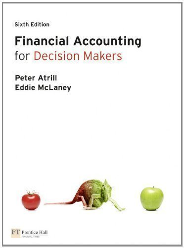 Financial Accounting for Decision Makers 6th (sixth) Edition by Atrill, Dr Peter, McLaney, Eddie published by Financial Times/ Prentice Hall (2010)