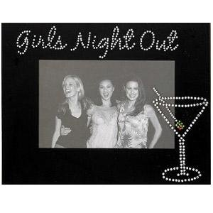 Sixtrees Jeweled Girls Night Out Frame 4 By 6inch Black Amazonco