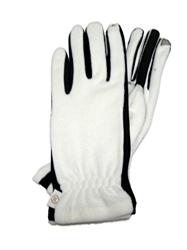 Isotoner Smart Touch Womens Ivory Fleece Unlined Smartouch Texting & Tech Gloves