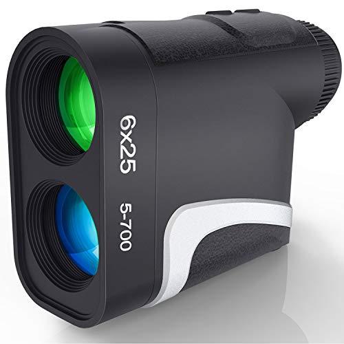 Golf Rangefinder, 6X Laser Range Finder 1000 Yards, Flag-Lock, Slope Tech, 4 Scan Mode, Linear &...