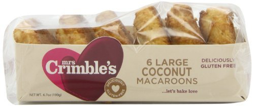 M Roasted Crimble's Traditional Coconut Macaroons 6.7-Ounce (Pack Of 12)