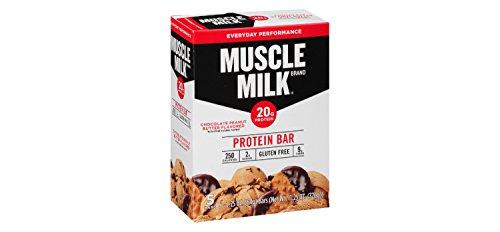 Muscle Milk Protein Bar, Chocolate Peanut Butter, 5 Littl...