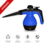Comforday Multi-Purpose Steam Cleaner, High Pressure Chemical Free Steamer with 9-Piece Accessories, Perfect for Stain Removal, Carpet, Curtains, Car Seats,Floor,Window Cleaning(Upgrade)