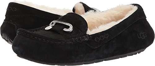 UGG Womens Florencia Slipper Black Size 9 by UGG