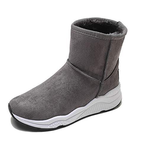 Shukun Bottes Chaussures Basses d'été Chaussures Basses Chaussures pour Femmes Rondes à tête Ronde Plat avec Bretelles croisées Année d'été Bouche Profonde