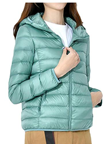 Ultra Down Weight Packable Hooded Light Jacket EKU Women 1 PqtxAA