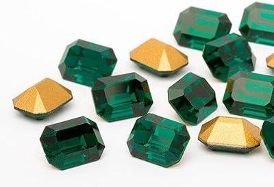 Swarovski Piedras Preciosas Elements 8x6mm (Emerald), 24 Piezas