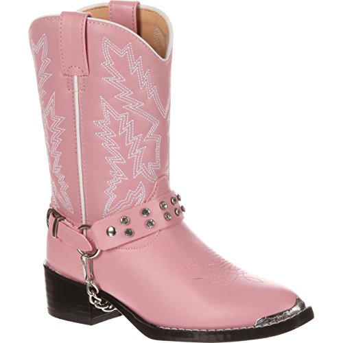 Cowgirl Pink - Durango Kids BT568 Lil' 8 Inch,Pink