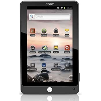 Coby Kyros 7-Inch Android 2.3 4 GB Internet Tablet with Capacitive Touchscreen - MID7022-4G (Black)