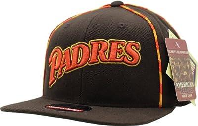 Vintage San Diego Padres Dark Knight Flat Bill Snapback Cap