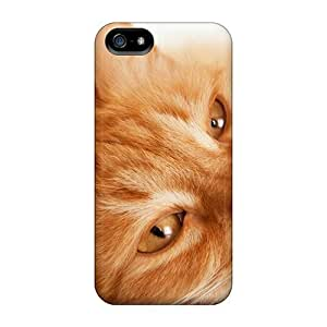 MZI2605WjLL Luoxunmobile333 Awesome Cases Covers Compatible With Iphone 4/4S - Animals Cats Red Cat