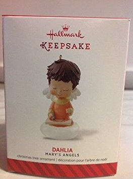 - Hallmark Keepsake Ornament Dahlia 27th in Mary's Angels Series 2017
