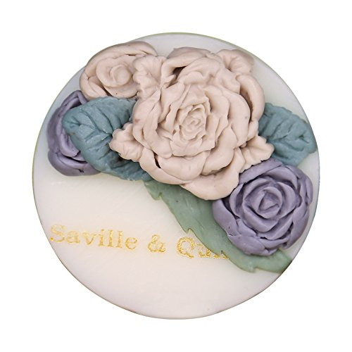Saville Quinn Chamomile Soothing Glycerin Handmade Soap Exquisite Natural No Irritati Cleansing Face Bathing Hand Soaps 100g