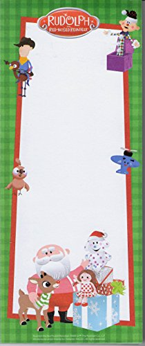 Rudolph The Red-Nosed Reindeer Misfit Toys Magnetic Memo ()