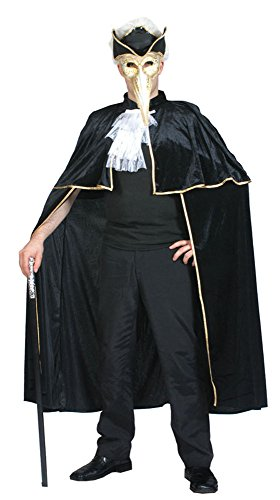 Bristol Novelty AC074 Venetian Cape Costume (One Size)
