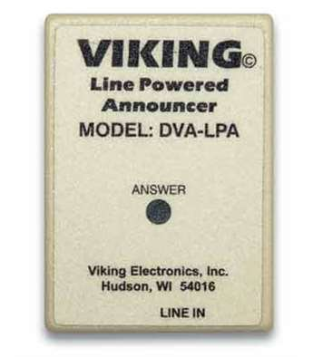 Viking Electronics DVA-LPA Phone Line Powered Digital Voice by Viking