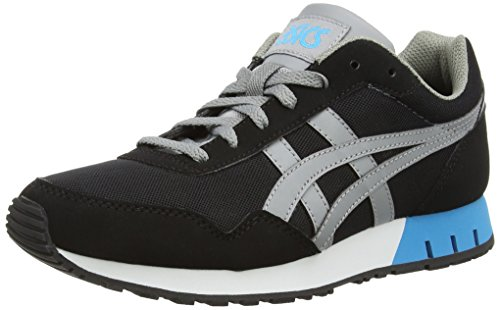 ASICS Zapatillas unisex Grey 9012 black mid Curreo adulto Negro Tq67xT