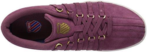 K-swiss Womens Classic 88 P Sneaker Biancospino Rosa / Grigio Vaporoso / Oro