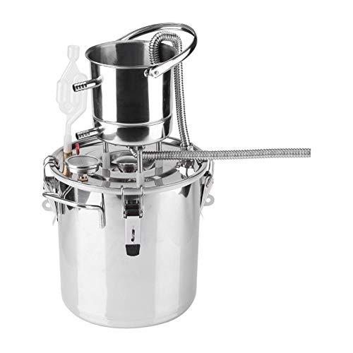 Wijnketel,Kleine Home Brouwen Roestvrij Staal Boiler Alcohol Wijn Maken Apparaat Kit Water Distiller Apparatuur Wijn…