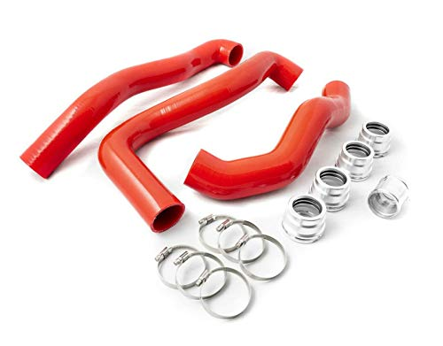 GXP Red Silicone Radiator/Coolant Hose Kit Compatible with 2008-2010 Ford 6.4L Powerstroke Diesel ()