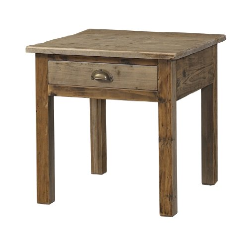 Padma's Plantataion Salvaged Wood End Table - Padmas Plantation Loft