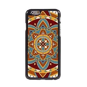 LZX Special Flower Design Aluminum Hard Case for iPhone 6 Plus