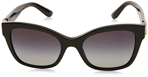 Sol Dolce Negro amp; para 0Dg4309 de Black Mujer Gafas Gabbana rwASqXw