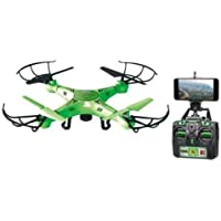 WORLD TECH TOYS Glow in The Dark Live Feed Striker Drone