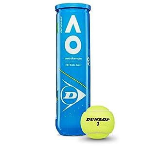 Dunlop Australian Open Palla da tennis gelb Taglia unica, giallo 7 spesavip