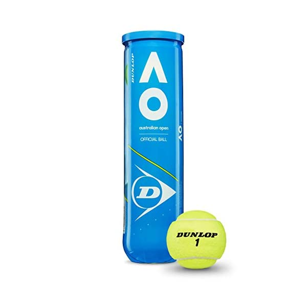 Dunlop Australian Open Palla da tennis gelb Taglia unica, giallo 1 spesavip