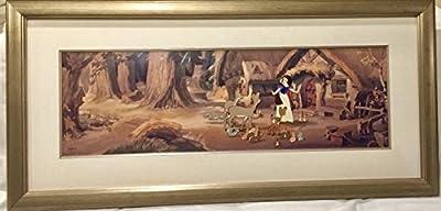 "Disney Snow White Cel ""A NEW HOME"" framed with Disney COA"