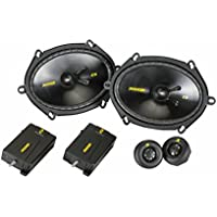 Kicker 40CSS684 6x8 Component Speaker System
