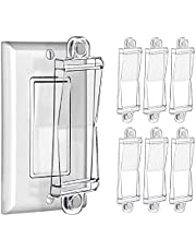 Magnetic Light Switch Guard Cover- PSZEZNZ Light Switch Outlet Covers for Flat Modern Wall Switches-Child Safety Protection