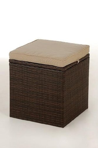 vivanno quotpalu with cushion linen box made of poly rattan bi colour starbucks smoothie recipe