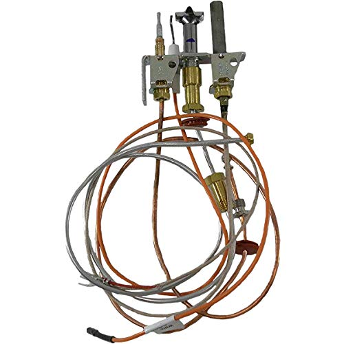 Empire Direct Vent Fireplace Natural Gas Pilot Assembly with Thermopile & Thermocouple R5143 ()