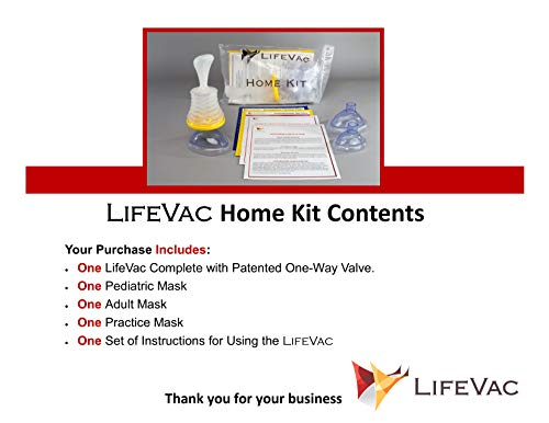 LifeVac - Choking Rescue Device (Public Access)