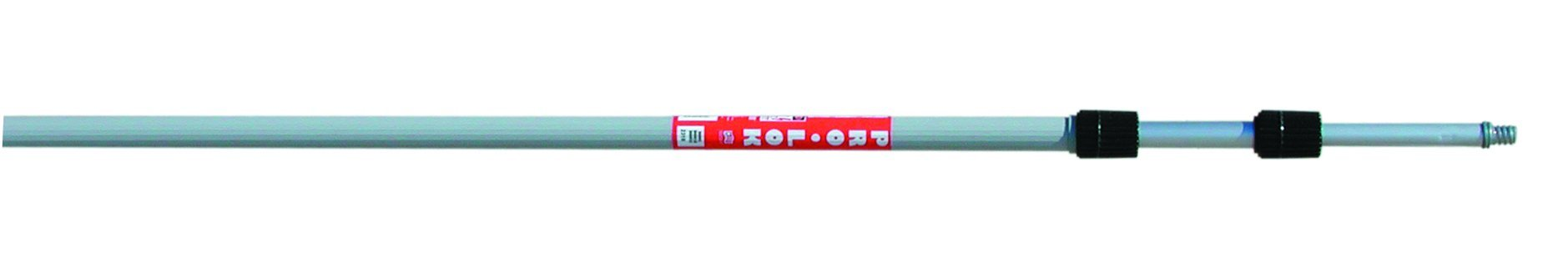 Magnolia Brush PRO-LOCK 618 Aluminum Pro-Lock Heavy Duty Extension Handle, 1-1/4'' Diameter, 6' - 18' Length (Case of 6)