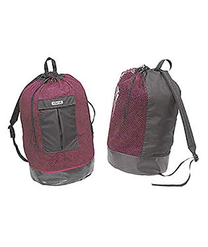 Stahlsac Panama Original MESH Backpack with Dry Pocket (Red)
