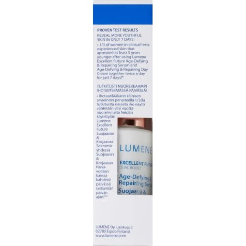 60%OFF Lumene Excellent Future Age Defying Repairing Serum