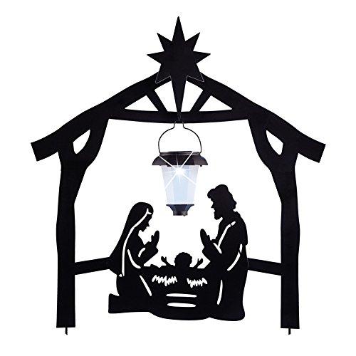 Nativity Solar Lights