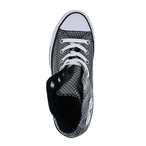 Sneakers Style and Chuck White Star in Uppers Unisex Durable White Color Converse All Classic Top High Canvas Casual Taylor and Black Pq85w5Rx