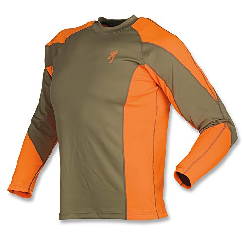 Browning NTS Upland Shirt, Blaze, Large from Browning